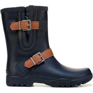 Sperry Nellie Lou Navy Blue Waterproof Rain boots